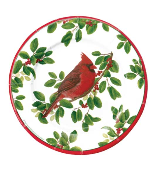 Christmas Paper Plates Dinner Bird  sc 1 st  Decorative Things & Christmas Paper Plates