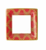 Christmas Paper Plates Lunch Red Crown