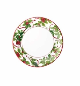 Christmas Paper Plates Salad Trim