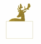 Christmas Place Cards Antlers