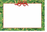 Christmas Placecards Boxwood