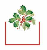 Christmas Place Cards Holly