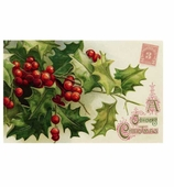 Christmas Placemats Holly