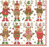 Christmas Sweater Party Lunch Napkins