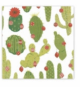 Christmas Wrapping Paper Cactus
