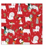 Christmas Wrapping Paper Dogs