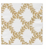 Christmas Wrapping Paper Ivory Crown