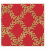 Christmas Wrapping Paper Red Crown