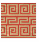 Christmas Wrapping Paper Red Greek