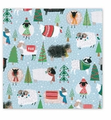 Christmas Wrapping Paper Sheep