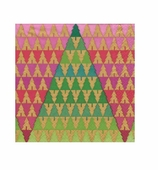 Christmas Zig Zag Tree Cocktail Napkins