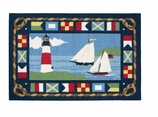 Claire Murray Rugs Sailboats