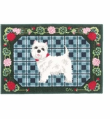 Claire Murray Kitchen Rugs Westie