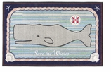 Claire Murray Kitchen Rugs Whale