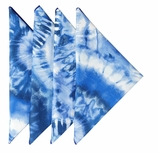 Cloth Napkins Blue Tie Dye