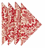 Cloth Napkins Red