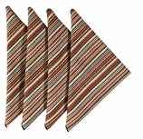 Cloth Napkins Rustic Stripe