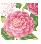 Cocktail Napkins Camellias