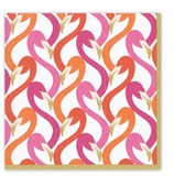 Cocktail Napkins Flamingo Pink