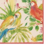 Cocktail Napkins Parrot