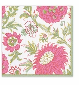 Cocktail Napkins Pink Block