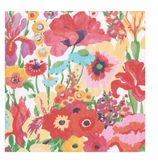 Cocktail Napkins Secret Garden Ivory