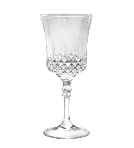 decorated wine glasses crystal look click to enlarge