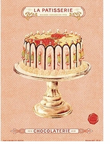 Decorative Art Prints La Patisserie
