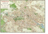 Decorative Art Prints Map of Berlin