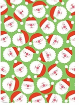 Decorative Art Prints Santa