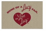 Decorative Doormats I Love Lucy