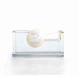 Desk Set Gold Colored Tape Dispenser