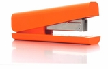 Desk Set Orange Stapler