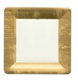 Dinner Plates Gold Border