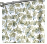 Extra Long Shower Curtains Gingko 84""
