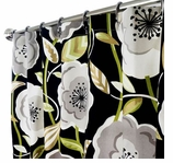 Extra Long Shower Curtains XXL Poppy
