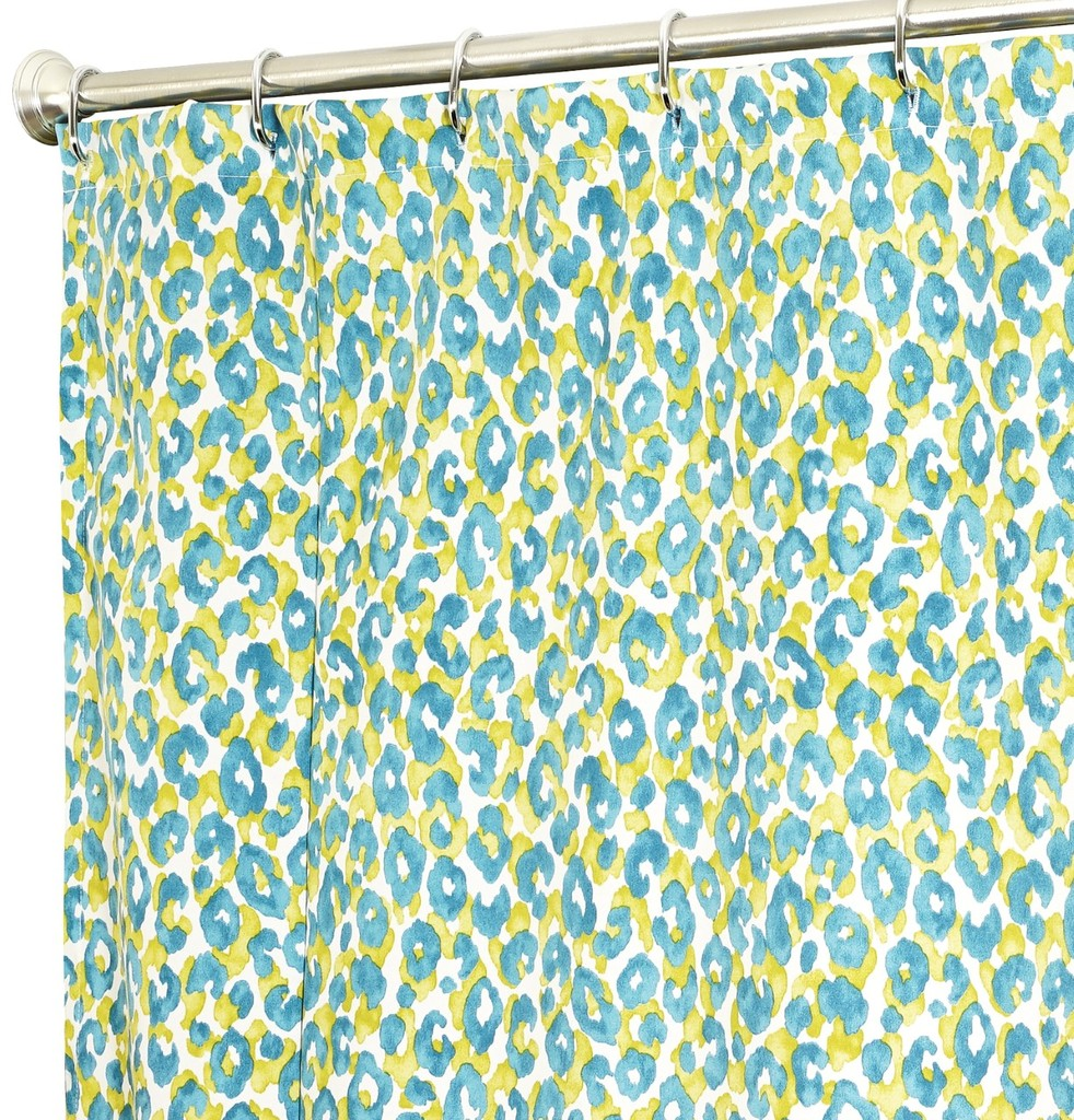 Teal Colored Shower Curtains Shower Curtains Bed Bath