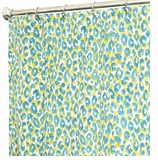 Fabric Shower Curtains Animal Turquoise