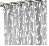 Fabric Shower Curtains Arrow