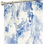 Fabric Shower Curtains Azure