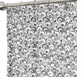 Fabric Shower Curtains Black