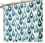 Fabric Shower Curtains Chloe