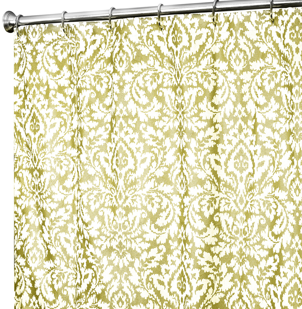 gold and silver shower curtain photos
