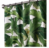 Fabric Shower Curtains Falling Leaves