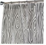Fabric Shower Curtains Faux Bois