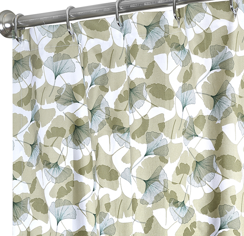 fabric shower curtains ginko click to enlarge