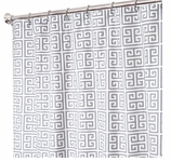 Fabric Shower Curtains Taupe