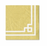 Fancy Lunch Napkins Gold