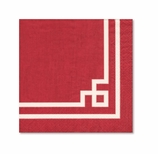 Fancy Lunch Napkins Red