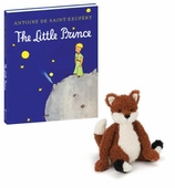 Fox Stuffed Animal Little Prince Book